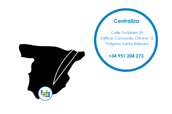 Ubicación Oficina de Málaga